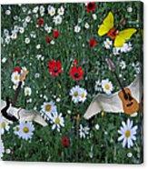 Flower Power  Acrylic Print by Eric Kempson