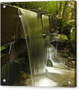 Flowing Water Acrylic Print by Andrew Soundarajan