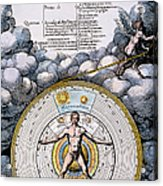 Fludd: Title-page, 1617 Acrylic Print by Granger