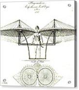 Flugmaschine 1807 Acrylic Print by Padre Art