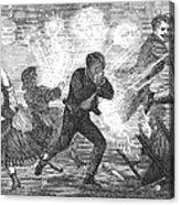 Fluid Lamp Explosion, 1868 Acrylic Print by Granger