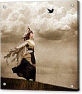 Flying Dreams Acrylic Print by Cindy Singleton