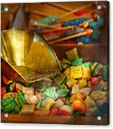 Food - Candy - One Scoop Of Candy Please  Acrylic Print by Mike Savad