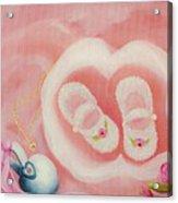For Baby Acrylic Print by Joni McPherson