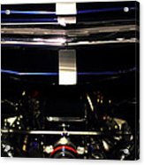 Ford Mustang Front View Acrylic Print by Radoslav Nedelchev