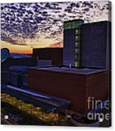 Fox Cities Performing Arts Center Acrylic Print by Joel Witmeyer