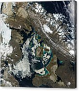 Foxe Basin, Northern Canada Acrylic Print by Stocktrek Images