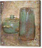 Frankhoma Pottery Acrylic Print by Betty LaRue