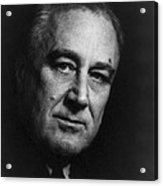 Franklin Delano Roosevelt  - President Of The United States Of America Acrylic Print by International  Images