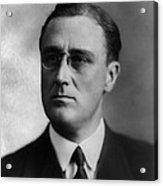 Franklin Delano Roosevelt Acrylic Print by International  Images