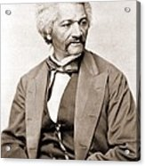 Frederick Douglass 1818-1895, Former Acrylic Print by Everett