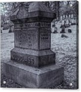 Frederick Douglass Grave One Acrylic Print by Joshua House