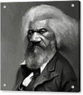 Frederick Douglass Acrylic Print by Jumaane Sorrells-Adewale