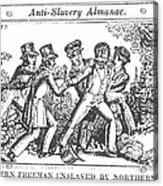Freedman Enslaved, 1839 Acrylic Print by Granger