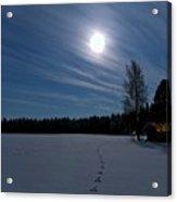 Freezing Cold Acrylic Print by Heikki Salmi