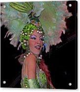 French Feathers Acrylic Print by Cheri Randolph
