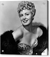 Frenchie, Shelley Winters, 1950 Acrylic Print by Everett