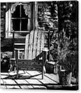 Front Porch Acrylic Print by Jerry Winick