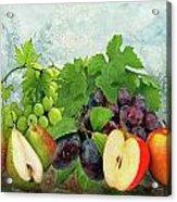 Fruit Garden Acrylic Print by Manfred Lutzius