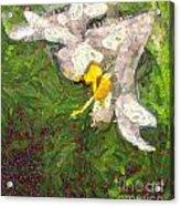 Fruit Lily Acrylic Print by Odon Czintos