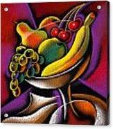 Fruits Acrylic Print by Leon Zernitsky