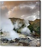 Furnas Acrylic Print by Andre Goncalves