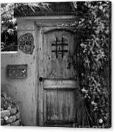 Garden Doorway 2 Acrylic Print by Perry Webster