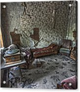 Garnet Ghost Town Hotel Parlor - Montana Acrylic Print by Daniel Hagerman