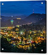 Gatlinburg And The Smokey Mountains Acrylic Print by Brian Young