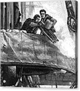Gatling Gun, 1878 Acrylic Print by Granger