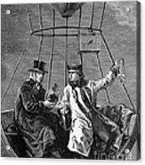 Gay-lussac And Jean-baptiste Biot, 1804 Acrylic Print by Science Source