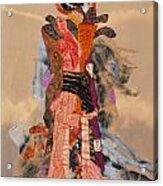 Geisha Acrylic Print by Roberta Baker