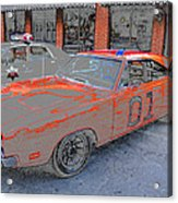 General Lee One Acrylic Print by David Lee Thompson