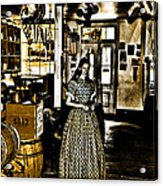 General Store Harpers Ferry Acrylic Print by Bill Cannon