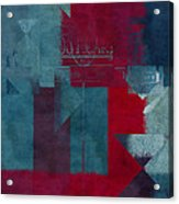 Geomix 03 - S330d05t2b2 Acrylic Print by Aimelle