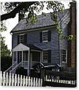 George Peers House Appomattox Virginia Acrylic Print by Teresa Mucha