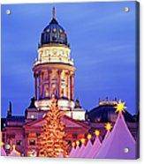 German Christmas Market Acrylic Print by Murat Taner