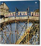 Giant Fun Fair Acrylic Print by Adrian Evans