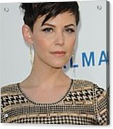 Ginnifer Goodwin At Arrivals Acrylic Print by Everett