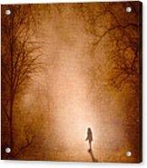 Girl Acrylic Print by Svetlana Sewell