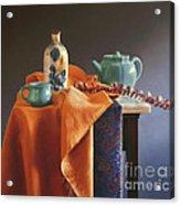 Glazed With Light Acrylic Print by Barbara Groff