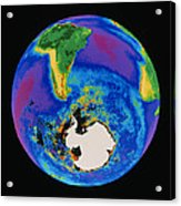 Global Biosphere, Southern Hemisphere, From Space Acrylic Print by Gene Feldman, Nasa Gsfc