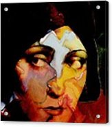 Gloria Swanson Abstract Acrylic Print by Stefan Kuhn