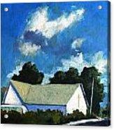 Glory Barn Acrylic Print by Charlie Spear
