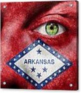 Go Arkansas  Acrylic Print by Semmick Photo