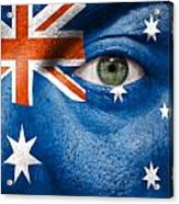 Go Australia Acrylic Print by Semmick Photo