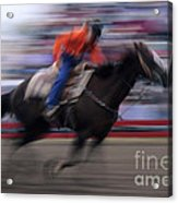 Rodeo Go For Broke Acrylic Print by Bob Christopher