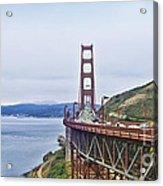 Golden Gate Bridge Acrylic Print by Betty LaRue
