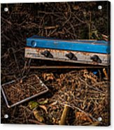 Gone Camping Acrylic Print by John Farnan