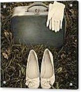 Goodbye Acrylic Print by Joana Kruse